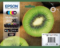 Epson 202XL Lot de 5 couleurs (C13T02G74010)