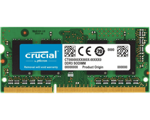 Crucial Apple 8GB DDR3L-1866 SODIMM 1x8GB
