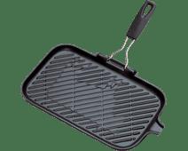 Le Creuset Gietijzeren Grill 36 cm Mat Zwart