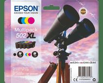 Epson 502XL Lot de 4 couleurs (C13T02W64010)
