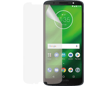 Azuri Motorola Moto G6 Plus Screenprotector Plastic Duo Pack