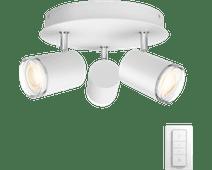 Philips Hue Adore 3-Spot Round White