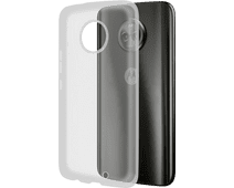 Azuri Glossy TPU Motorola Moto G6 Plus Transparent