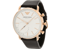 Emporio Armani Connected Aviator Rose Gold/Brown