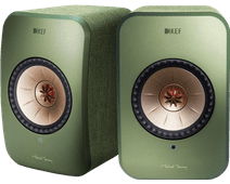 KEF LSX système stéréo sans fil Vert