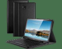 Just in Case Premium Étui Samsung Galaxy Tab S4 Noir AZERTY