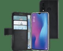 Azuri Wallet Book Case Magnétique pour Huawei P30 Lite Noir