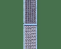 Apple Watch 44mm Nylon Sport Loop Horlogeband Hemelsblauw