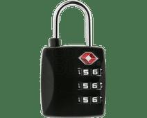 Veripart Serrure à code TSA 3 chiffres Noir