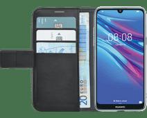 Azuri Coque à Rabat Portefeuille Magnétique Huawei Y6 (2019) Noir