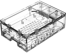 Multicomp Pro Raspberry Pi 4 behuizing - Doorzichtig