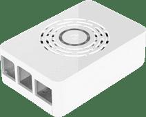 Multicomp Pro Raspberry Pi 4 behuizing - Power knop - Wit