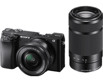 Sony Alpha A6100 + 16-50 mm f/3.5-5.6 OSS + 55-210 mm f/4.5-6.3 OSS