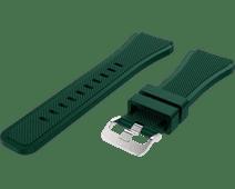 Just in Case Samsung Galaxy Watch 46mm Siliconen Bandje Donkergroen