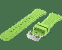 Just in Case Samsung Galaxy Watch 46mm Siliconen Bandje Lichtgroen