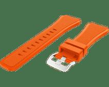 Just in Case Samsung Galaxy Watch 46mm Siliconen Bandje Oranje