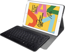Just in Case Premium Bluetooth AZERTY Toetsenbord Hoes Apple iPad (2019) Back Cover Zwart