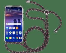 StilGut Huawei P Smart (2019) Back Cover avec Cordon Transparent