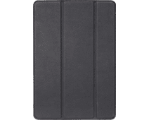 Decoded Leather Slim Cover Apple iPad (2019) Book Case Zwart