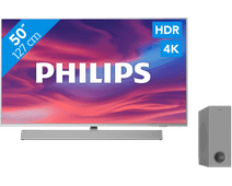 Philips The One (50PUS7304) - Ambilight + Barre de son