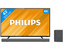 Philips 43PUS6504 + Barre de son