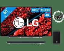 LG LG OLED65C9PLA + Soundbar