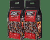 Weber Briketten 8 kg Duo pack