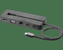 HP Usb C naar HDMI, Ethernet en VGA Mini Dock