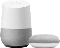 Google Home + Google Nest Mini Blanc