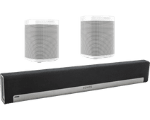Sonos Playbar 5.0 + One (x2) Wit