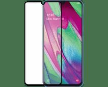Azuri Protège-écran Verre Trempé Samsung Galaxy A40 Noir