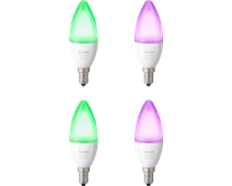 Philips Hue White and Color E14 4-Pack
