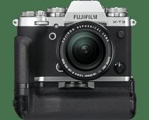 Fujifilm X-T3 Argent + XF 18-55 mm + Poignée d'alimentation verticale VG-XT3