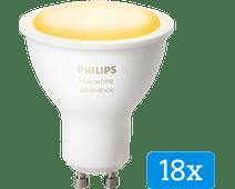Philips Hue White Ambiance GU10 Bluetooth 18-Pack