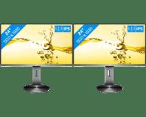 AOC i2490PXQU/BT Configuration double écran