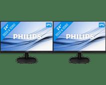 Philips 243V7QDAB Configuration double écran