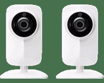 KliKAanKlikUit Wifi IP Camera met Nachtvisie Duo Pack