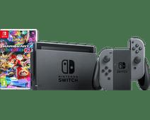Nintendo Switch (2019 Upgrade) Gray Mario Kart Bundle