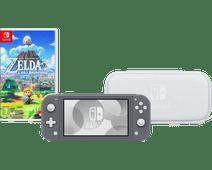 Nintendo Switch Lite Grijs - Startpakket