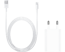 Apple Usb A 5W Oplader + Lightning naar Usb A Kabel 1m