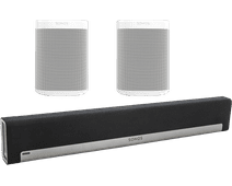 Sonos Playbar 5.0 + One SL (2x) Wit