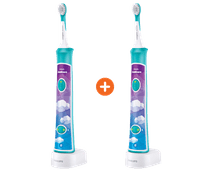 Deux fois Philips Sonicare for Kids Connected HX6321/03