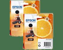 Epson 33 Lot de 2 Noir XL (C13T33514010)
