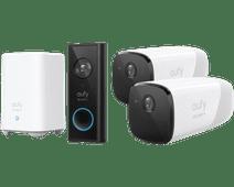 Eufy by Anker Video Doorbell Battery Set + Eufycam 2 Lot de 2