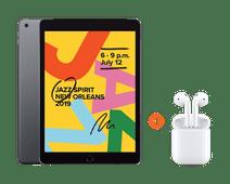 Apple iPad (2019) 32 GB Wifi + Apple AirPods 2 met oplaadcase