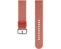 Samsung Galaxy Watch Active 2 42mm Kvadrat Bandje Rood