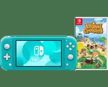Nintendo Switch Lite Turquoise Animal Crossing Bundel