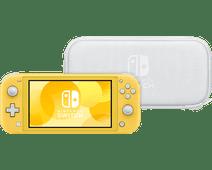 Nintendo Switch Lite Geel + Travel Case