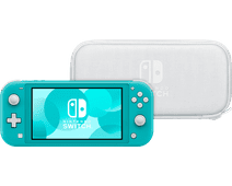 Nintendo Switch Lite Turquoise + Travel Case