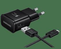 Samsung Oplader met Usb C Kabel 1,5m Adaptive Fast Charge 15W Zwart